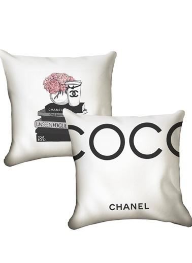 Lyn Home & Decor 2'li Chanel Set Renkli
